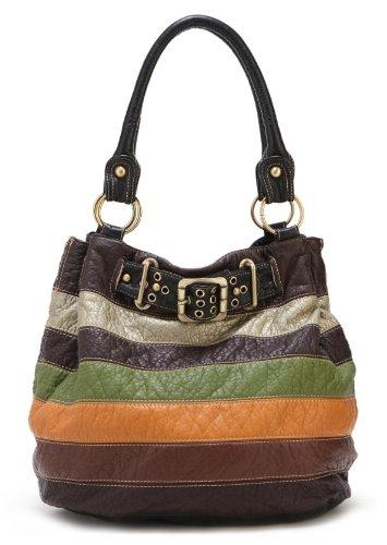 Scarleton Multi Color Hobo Bag H1413
