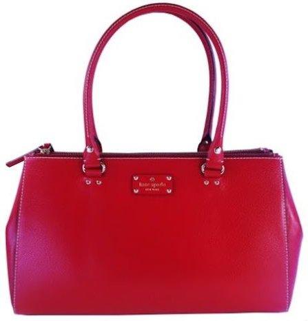 kate spade new york Wellesley Martine Pillboxred Shoulder Bag Handbag
