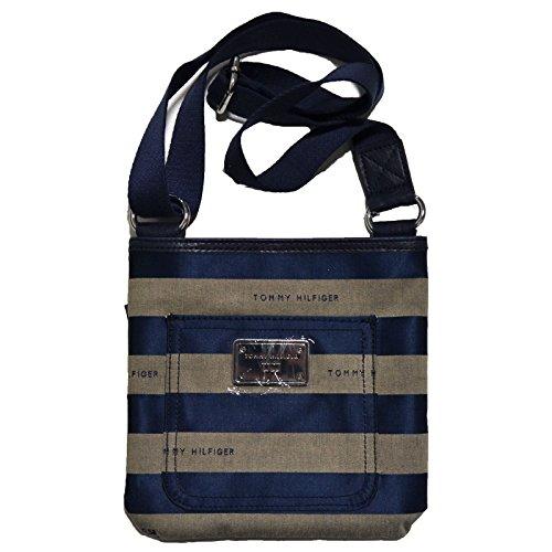 Tommy Hilfiger Small Crossbody Purse Womens Striped Bag