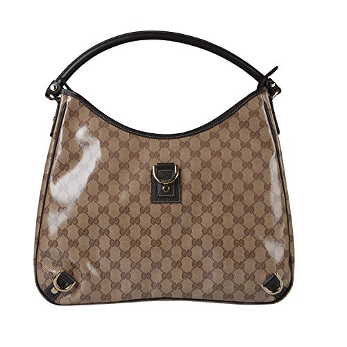 Gucci Women's Crystal Coating Guccissima Logo Shoulder Bag