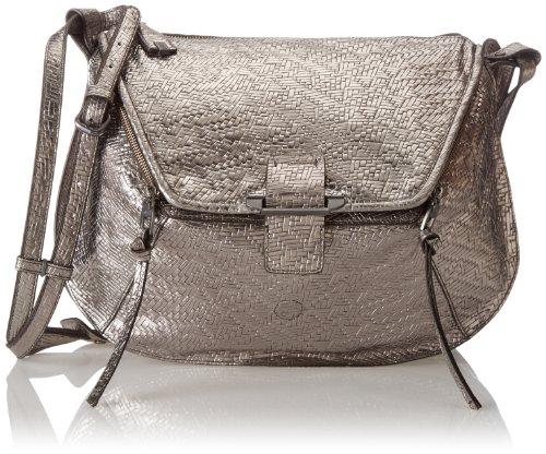 Kooba Handbags Leroy Metallic Cross Body Bag