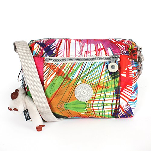 Kipling Wes Shoulder Bag Crossbody Beachprint