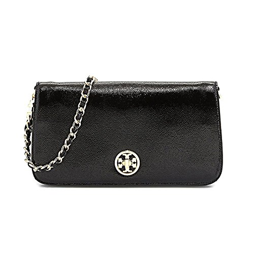 Tory Burch Adalyn Womens Black Purse Leather Messenger