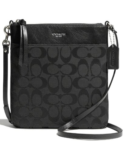 Coach Legacy Signature North South Swingpack 50808 Black