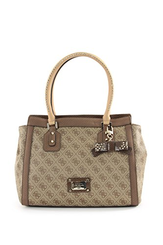GUESS Cheatin Heart Avery Satchel (Brown)