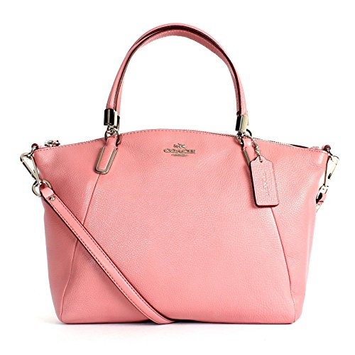 Coach Pebble Leather Small Kelsey Satchel 34493 – Shadow Rose