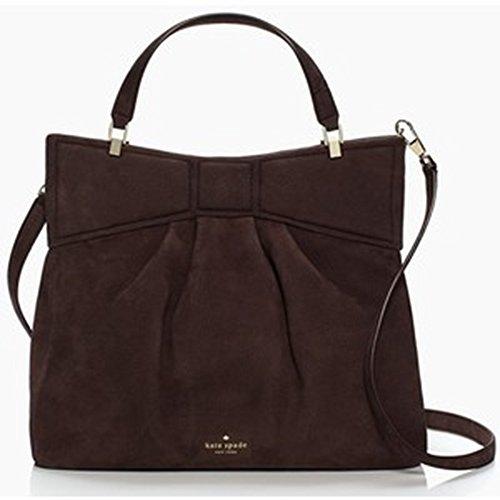 Kate Spade Large Mattie Street Amelie Leather Shoulder Bag Handbag Soft Bitter Sweet