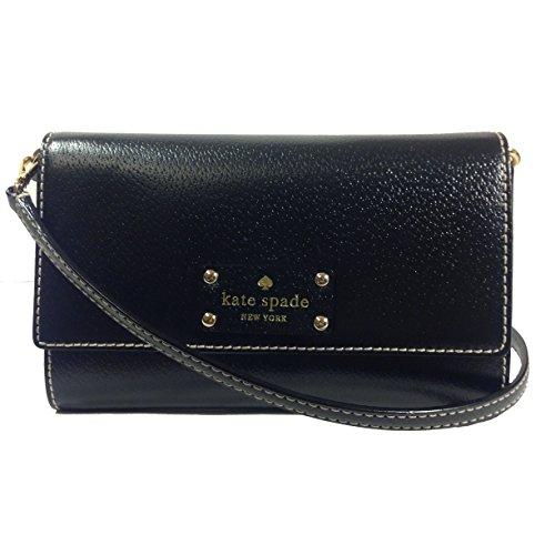 Kate Spade Wellesley Natalie Black Leather Cross-body Bag