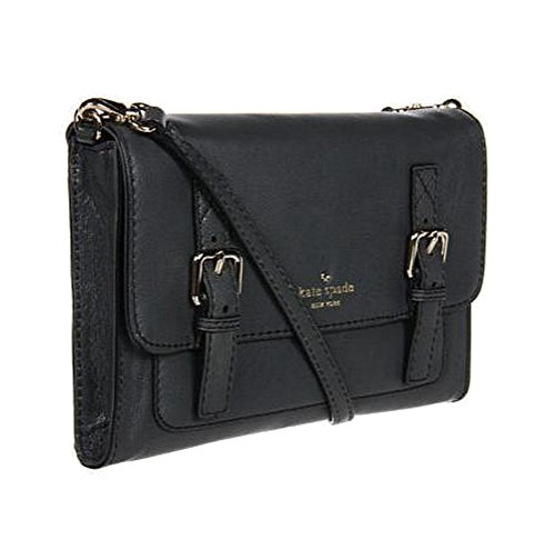 Kate Spade New York Allen Street Neil Leather Crossbody Bag, Black