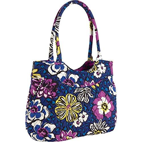 Vera Bradley Pleated Shoulder Bag (African Violet)