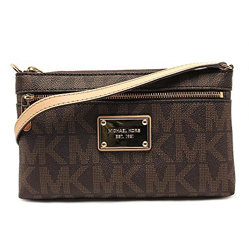 Michael Kors Jet Set Wristlet Womens Leather Wristlet
