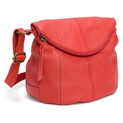 The SAK Deena Flap Cross Body Handbag,Cayenne,One Size