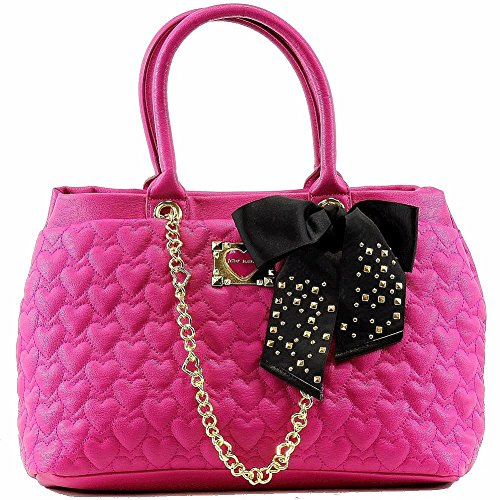 Betsey Johnson Women's Be My Sweetheart Shopper Tote Handbag