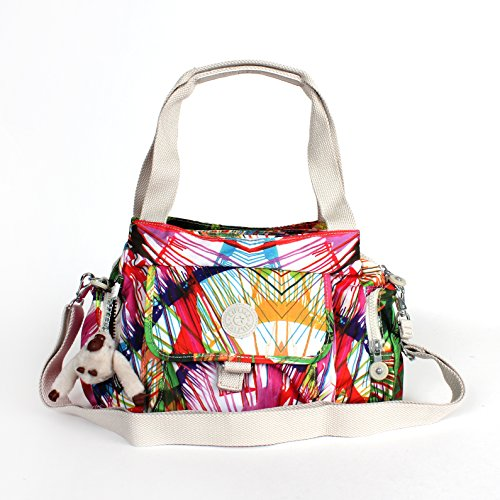Kipling Fairfax Shoulder Bag Crossbody Beach Print