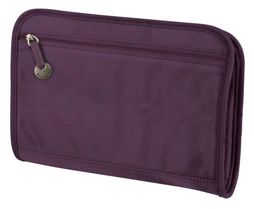 Travelon Safe ID RFID Blocking Classic Purse Organizer / Large – Eggplant