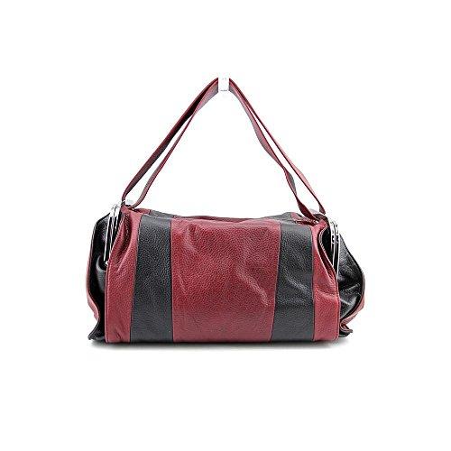 L.A.M.B. Aanya Womens Leather Satchel