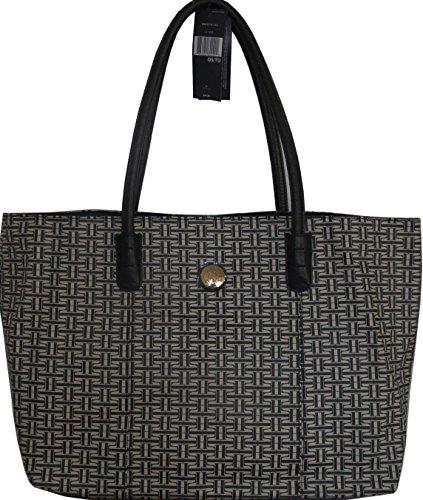 Tommy Hilfiger Handbag Tote Bag PVC Black XXXL