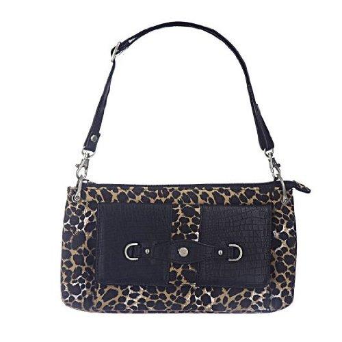 Travelon Microfiber Mini Shoulder Bag – Leopard