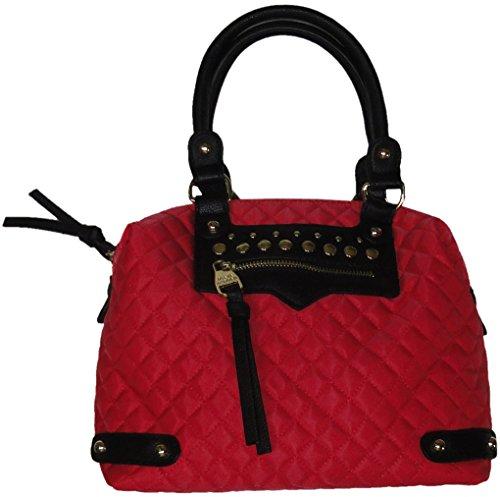 Steve Madden Women's/Girl's Large Crossbody/Xbody Handbag, Coral