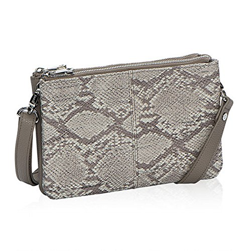 Thirty One Street Style Purse in Putty Snake Pebble Pattern – No Monogram – 8082