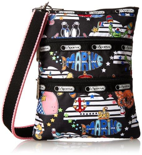 LeSportsac Kasey Cross-Body Handbag,Ships Ahoy,One Size