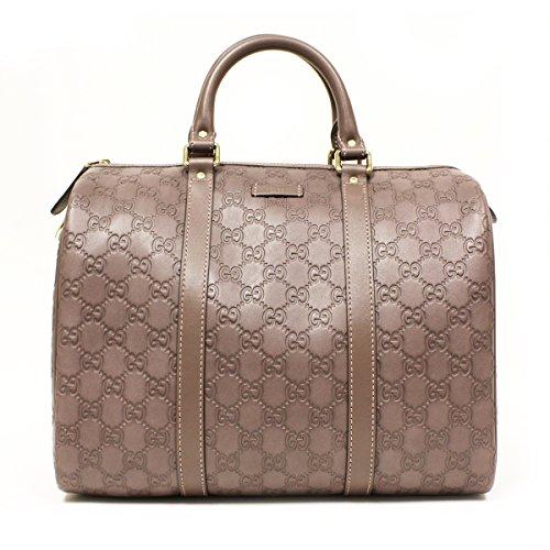 Gucci 362720 Gucci Joy Boston Satchel Bag Purple Leather