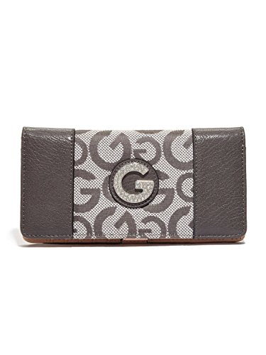 G by GUESS Women's Evander Logo-Detail Slim Clutch