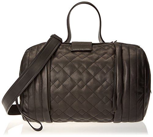Marc by Marc Jacobs Moto Quilted Barrel Large Top Handle Bag