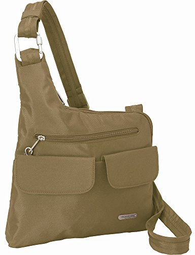Travelon Anti-Theft Cross Body Bag Tan