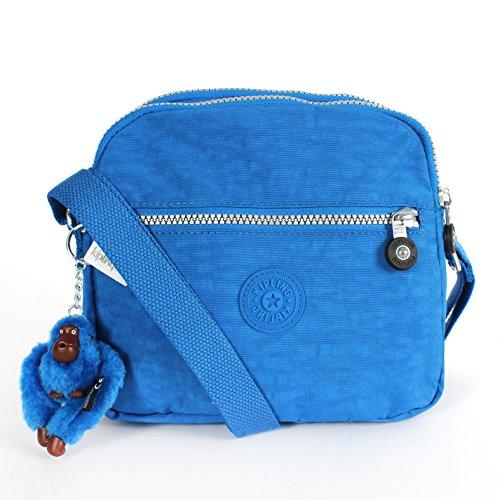 Kipling Keefe Shoulder Bag Crossbody Cool SKY