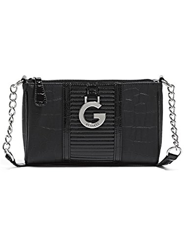 G by GUESS Women's Dagan Crocodile-Embossed Cross-Body Bag