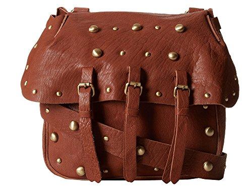Lucky Brand Marley Leather Crossbody Bag (Cognac)