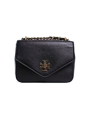 Tory Burch Kira Mini Chain Clutch in Black