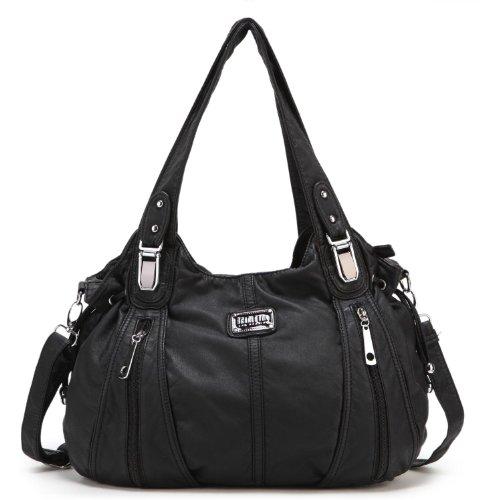 Scarleton Center Zip Shoulder Bag H1474