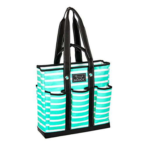 SCOUT Pocket Rocket Tote Bag, Montauk Mint, 15 by 14-1/2 by 5-Inches