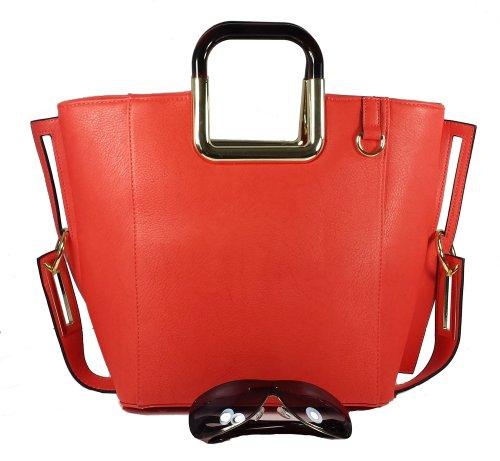 MyLux® Connection Shoulder Handbag K68037l (orange-pink373)