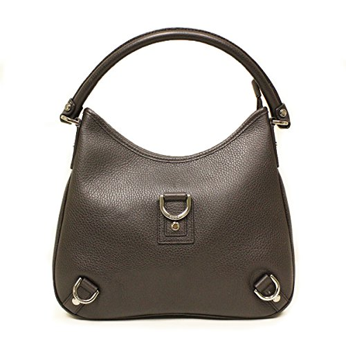 Gucci Medium Brown Leather D Ring Hobo Bag 268637