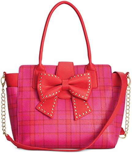 Betsey Johnson Sincerely Yours Shoulder Bag, Pink Multi