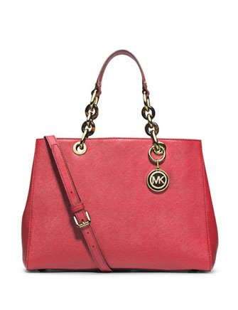 Michael Kors Cynthia MEDIUM Satchel WATERMELON