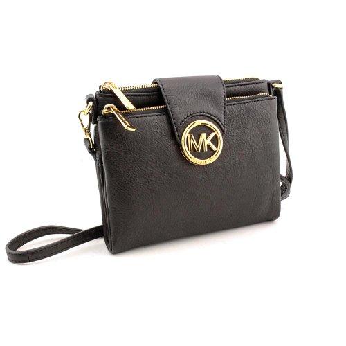 Michael Kors Women's Fulton Leather Crossbody Bag