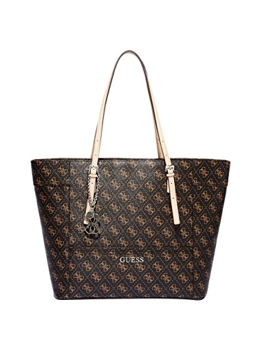 GUESS Women's Delaney Logo Medium Classic Tote