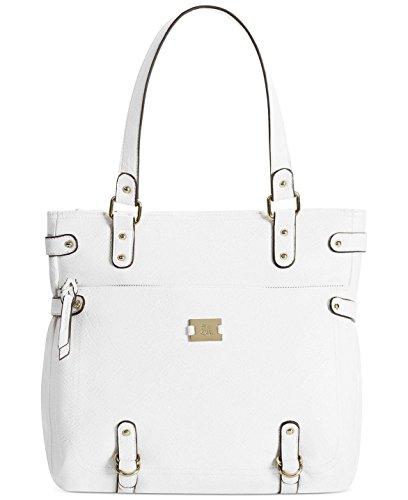 Style&co. Precious Cargo Tote Bag Handbag White