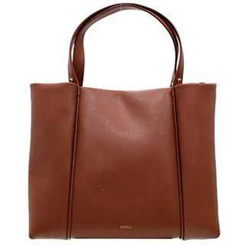 Furla Gaia L Tote Leather Cuoio, 718052