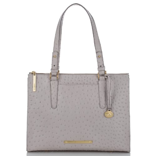 NEW AUTHENTIC BRAHMIN ANYWHERE SHOULDER TOTE (Dove Normandy)