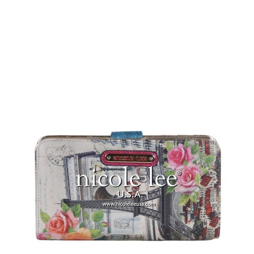 Nicole Lee Europe Print Wallet (Europe)