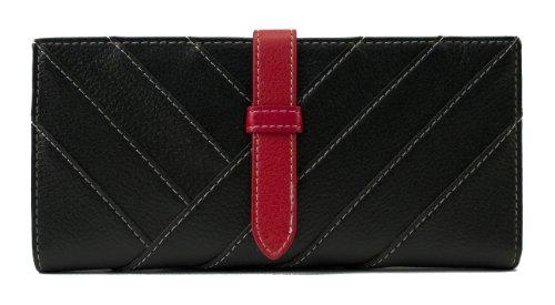 Scarleton Womens Stripe Drawstring Wallet H3320