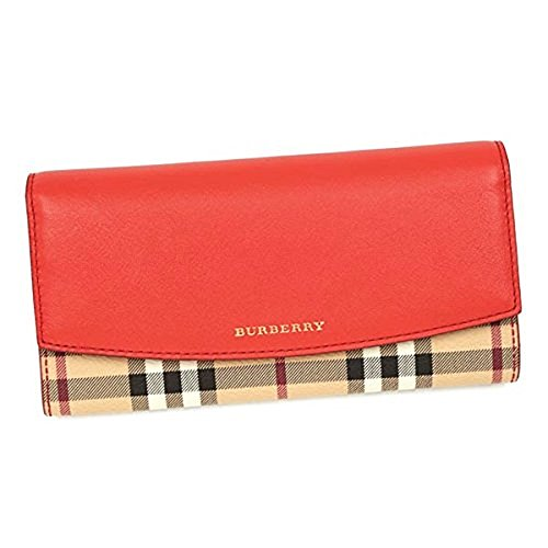Burberry Coral Red Purse LS PORTER HBC PV 60940