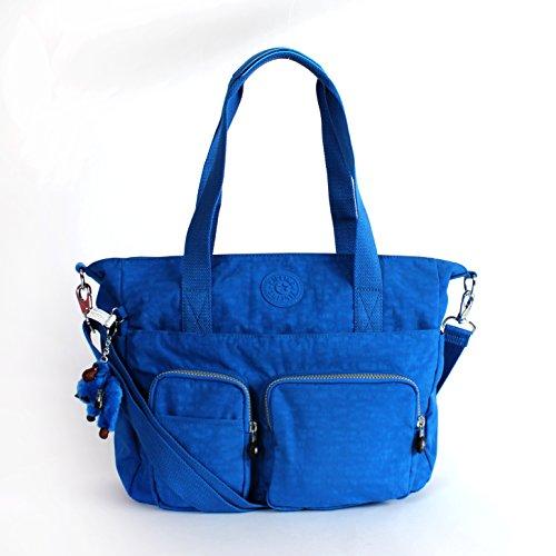 Kipling Sady Tote Handbag Pardise Cool Sky