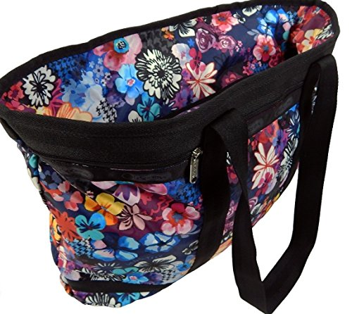 LeSportsac Tote Amelia Floral Large Tote Bag Travel Shopping