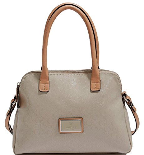 Guess Glazed Small Dome Cross-body Bag STONE
